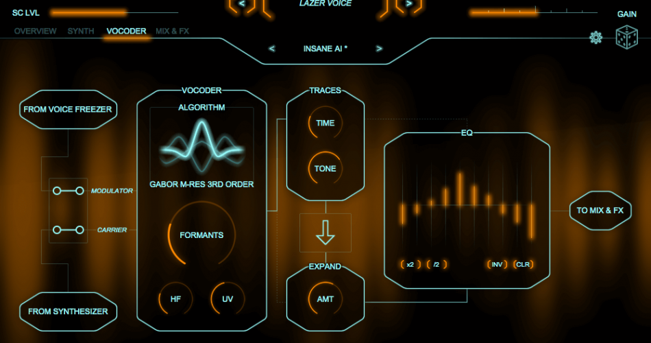 Zynpatiq Orange Vocoder 4