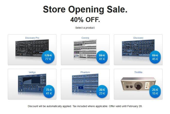 discoDSP sale