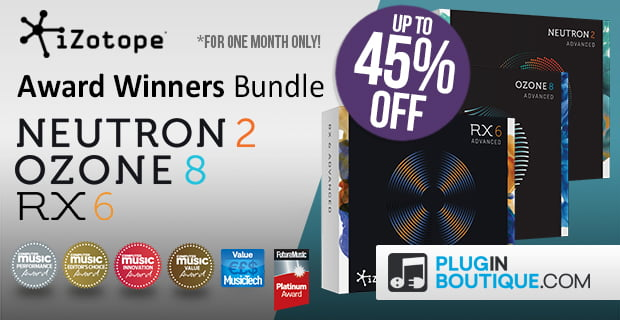 iZotope Award Winners Bundle