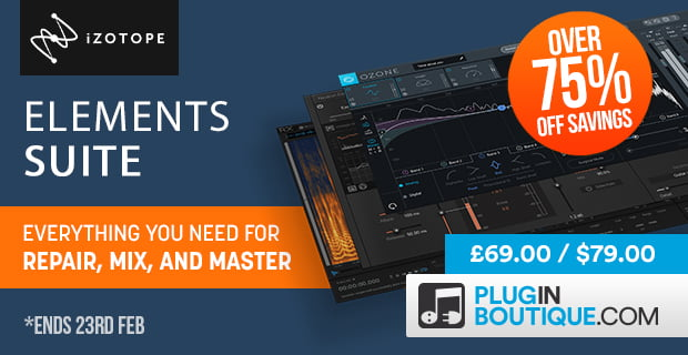 iZotope Elements Suite 75 PluginBoutique