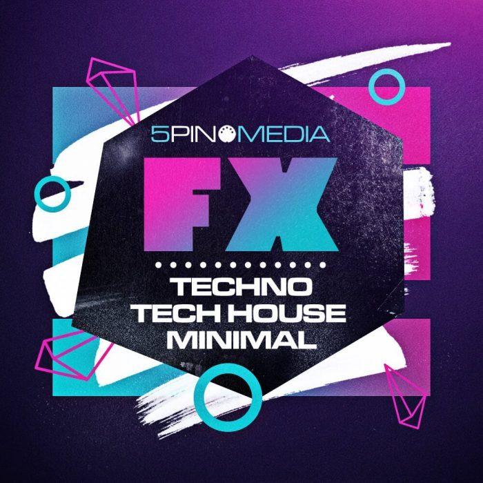5Pin Media FX Plus Techno, Tech House & Minimal