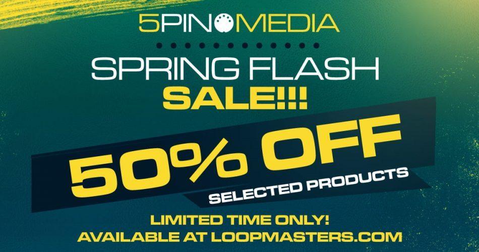 5Pin Media Spring Sale