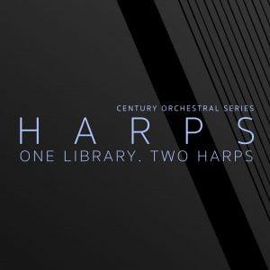 8Dio Century Orchestral Harps