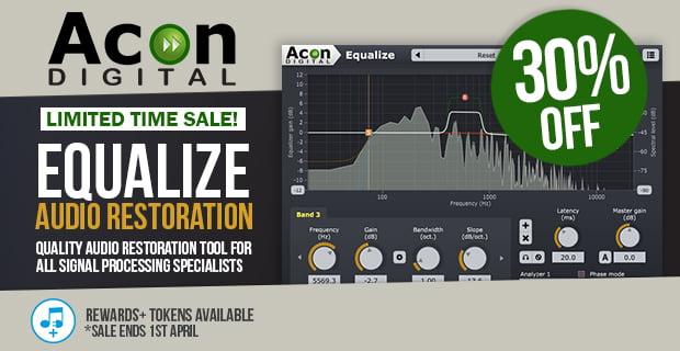 Acon Digital Equalize 30 off