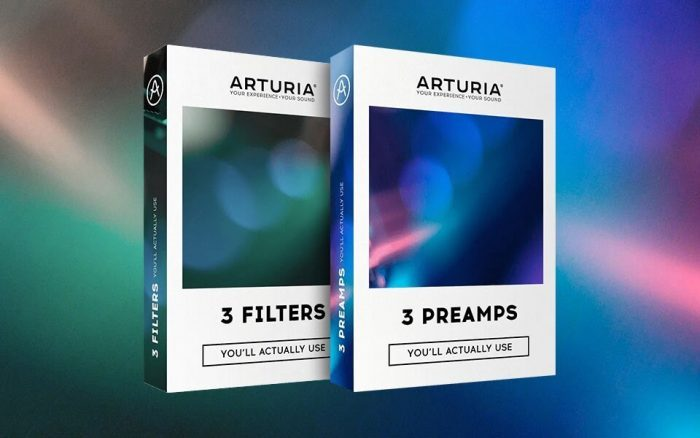 Arturia Filters and Preamps