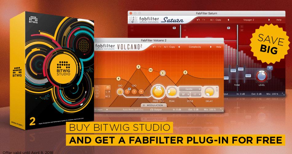 Bitwig FabFilter promo