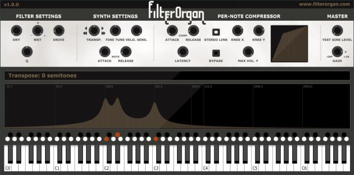 BltWorks FilterOrgan
