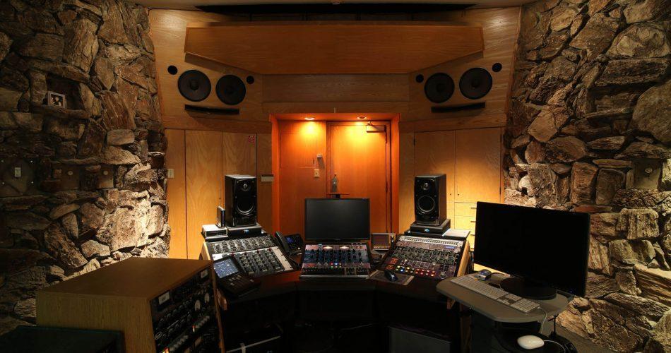 Capitol Studios Mastering suite RR1