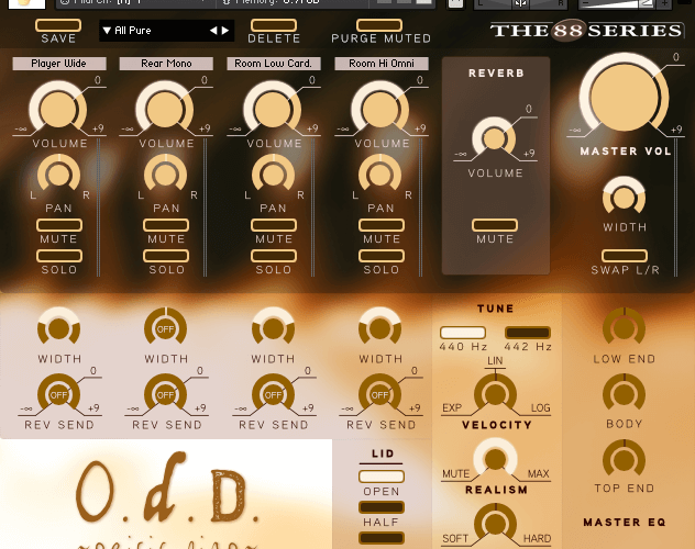 Chocolate Audio ODD Grand Piano