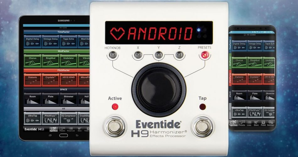 Eventide H9 Control Android