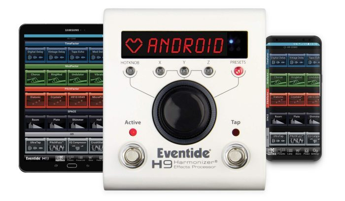 Eventide H9 Control Android App