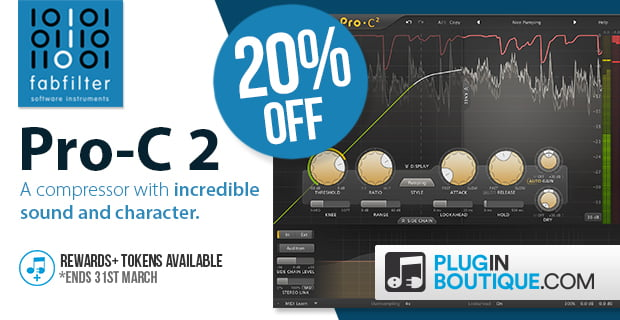 save 20 off fabfilter pro c 2 compressor plugin for limited time. Black Bedroom Furniture Sets. Home Design Ideas