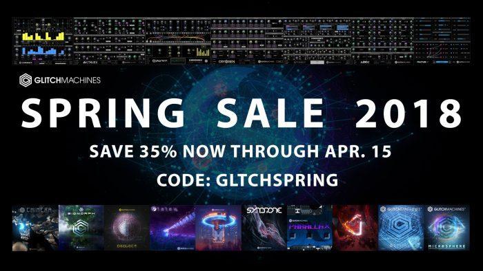 Glitchmachines Spring Sale 2018
