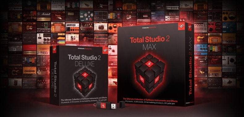 IK Multimedia Total Studio 2 MAX & DELUXE