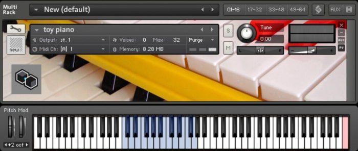 Igorski Toy Piano