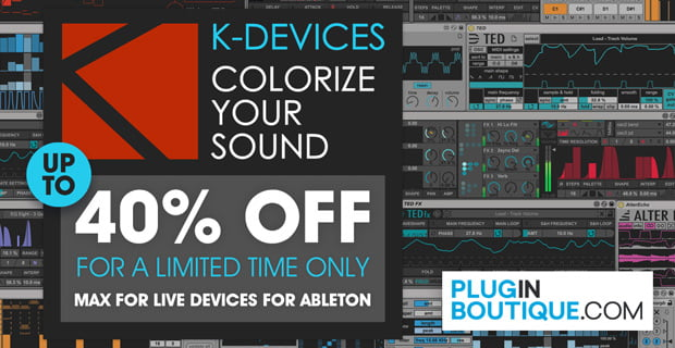 K Devices sale at Plugin Boutique