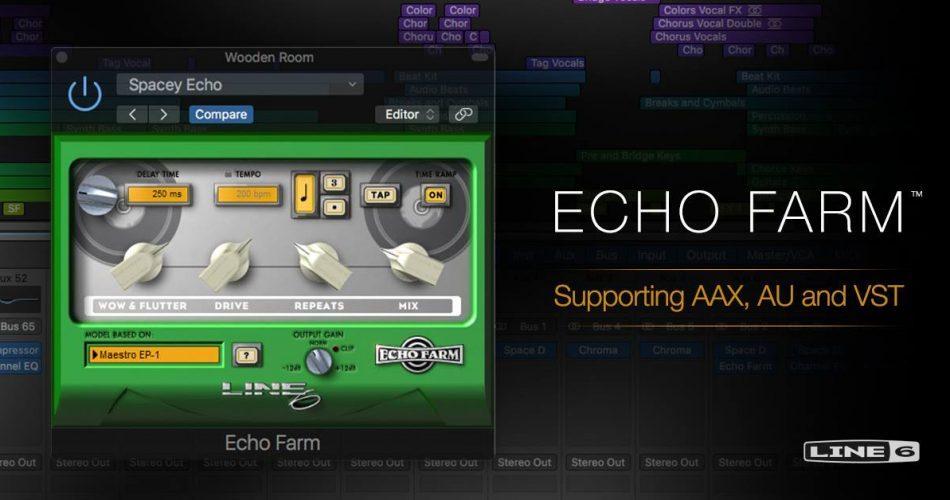 Line 6 Echo Farm 3.0 Native
