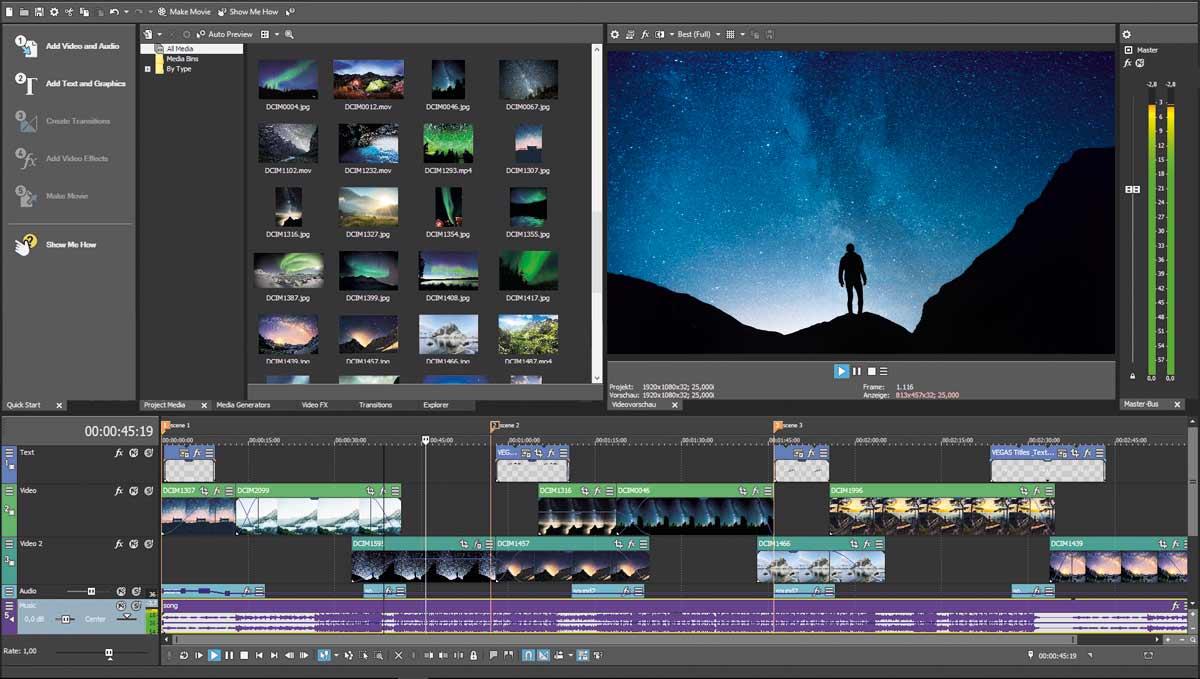 vegas movie studio 15 video editing software released