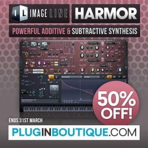 Plugin Boutique Harmor 50 off sale