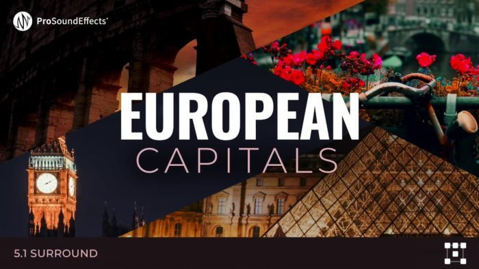 Pro Sound Effects European Capitals