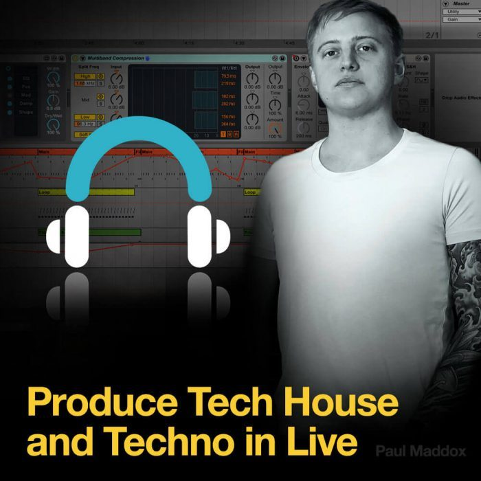 Producertech Produce Tech House and Techno in Live Paul Maddox