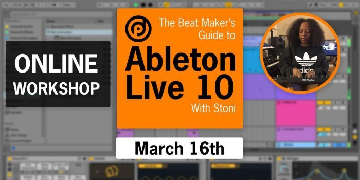 Pyramind Beat Makers Guide to Ableton Live 10 with Stoni