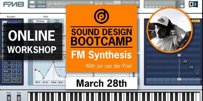 Pyramind Workshop Sound Design Bootcamp FM Syntehsis with Jor van der Poel