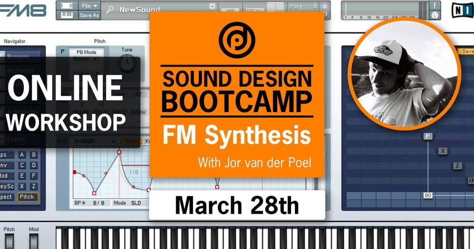 Pyramind Workshop Sound Design Bootcamp FM Syntehsis with Jor van der Poel