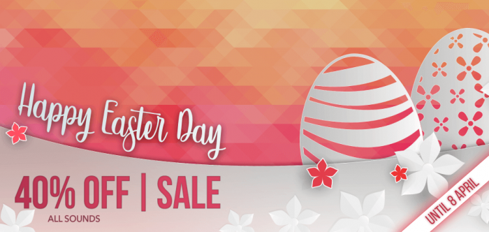 Reveal Sound Easter Sale Sounds 2018