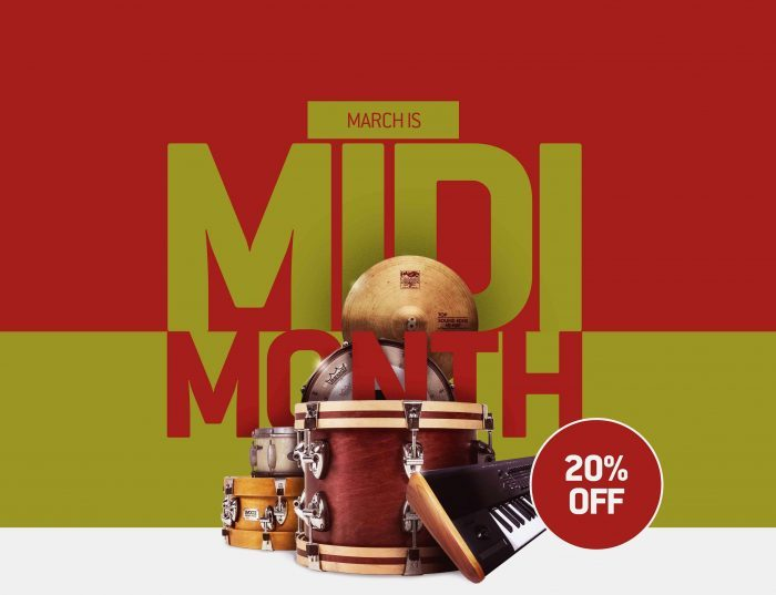 Toontrack March MIDI month