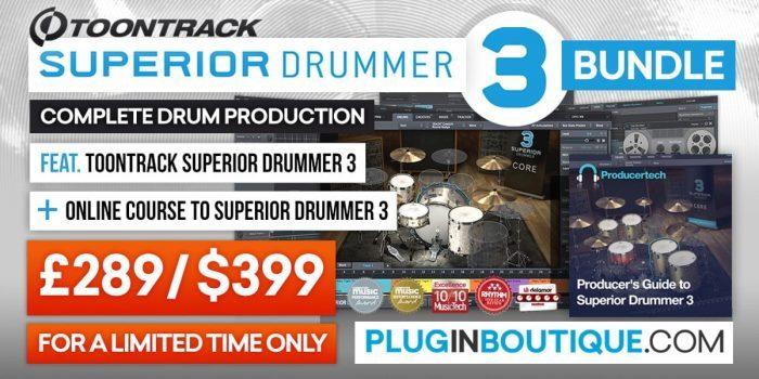 Toontrack Superior Drummer 3 Bundle