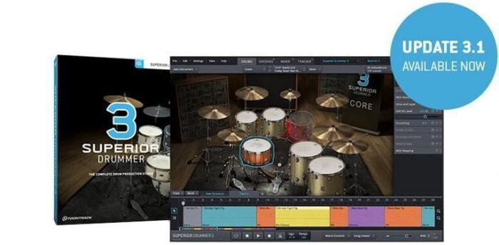 Toontrack Superior Drummer 3 update