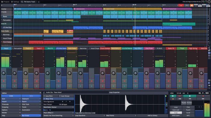 Tracktion Waveform 9