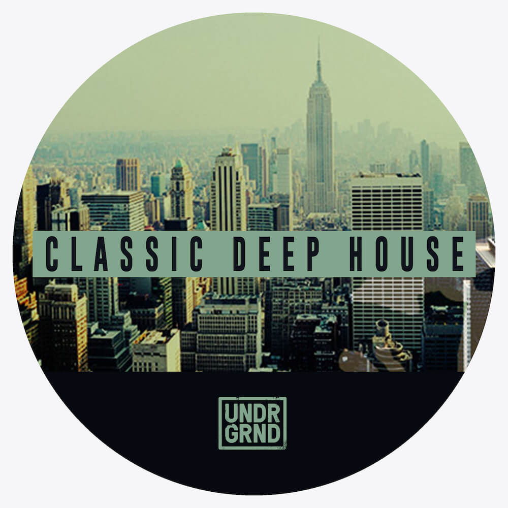 Undrgrnd sounds releases classic deep house sample pack for Classic 90s house samples