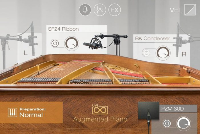 UVI Augmented Piano main
