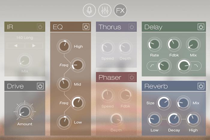 UVI Augmented Piano screen fx