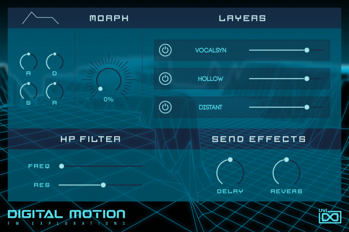 UVI Digital Motion FM Explorations for Falcon