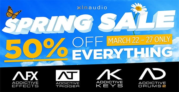 XLN Audio Spring Sale 2018