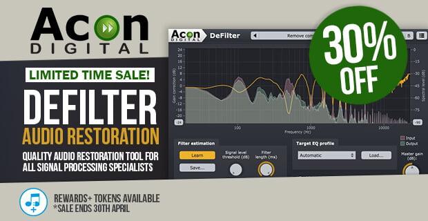 Acon Digital DeFilter 30% OFF