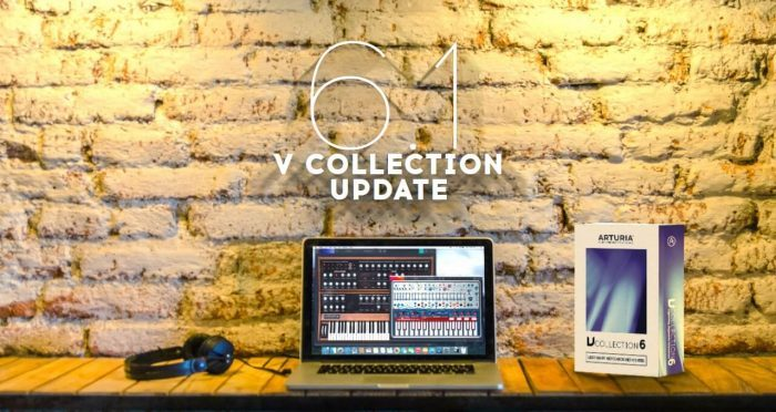 Arturia V Collection 6.1 update