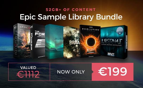 Audio Bundle Deals Epic Sample Library Bundle feat