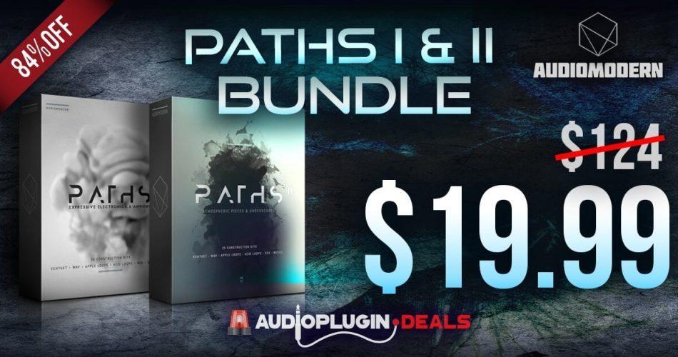 Audio Plugin Deals Audiomodern Paths Bundle Deal