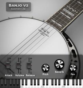 Auditory Lab releases Banjo V2 instrument plugin