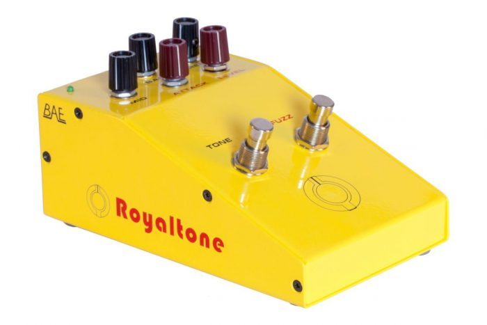 BAE Audio Royaltone fuzz pedal