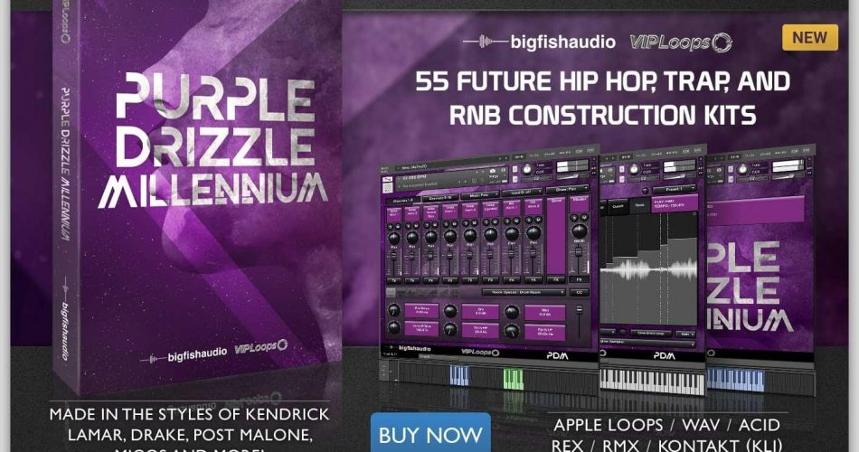 Big Fish Audio Purple Drizzle Millennium
