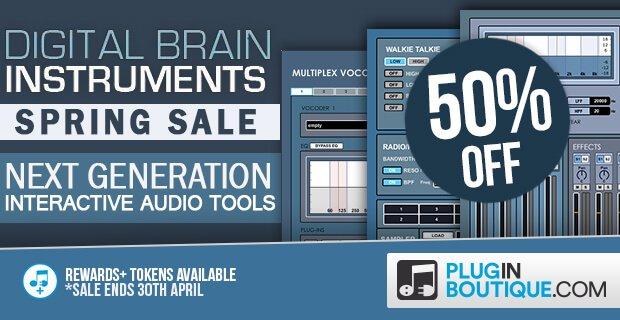 Digital Brain Instruments 50 off