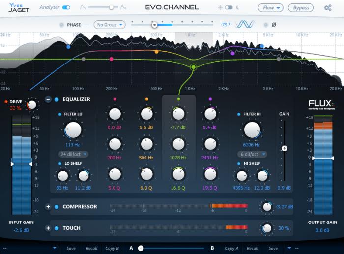 Flux EVO Channel GUI