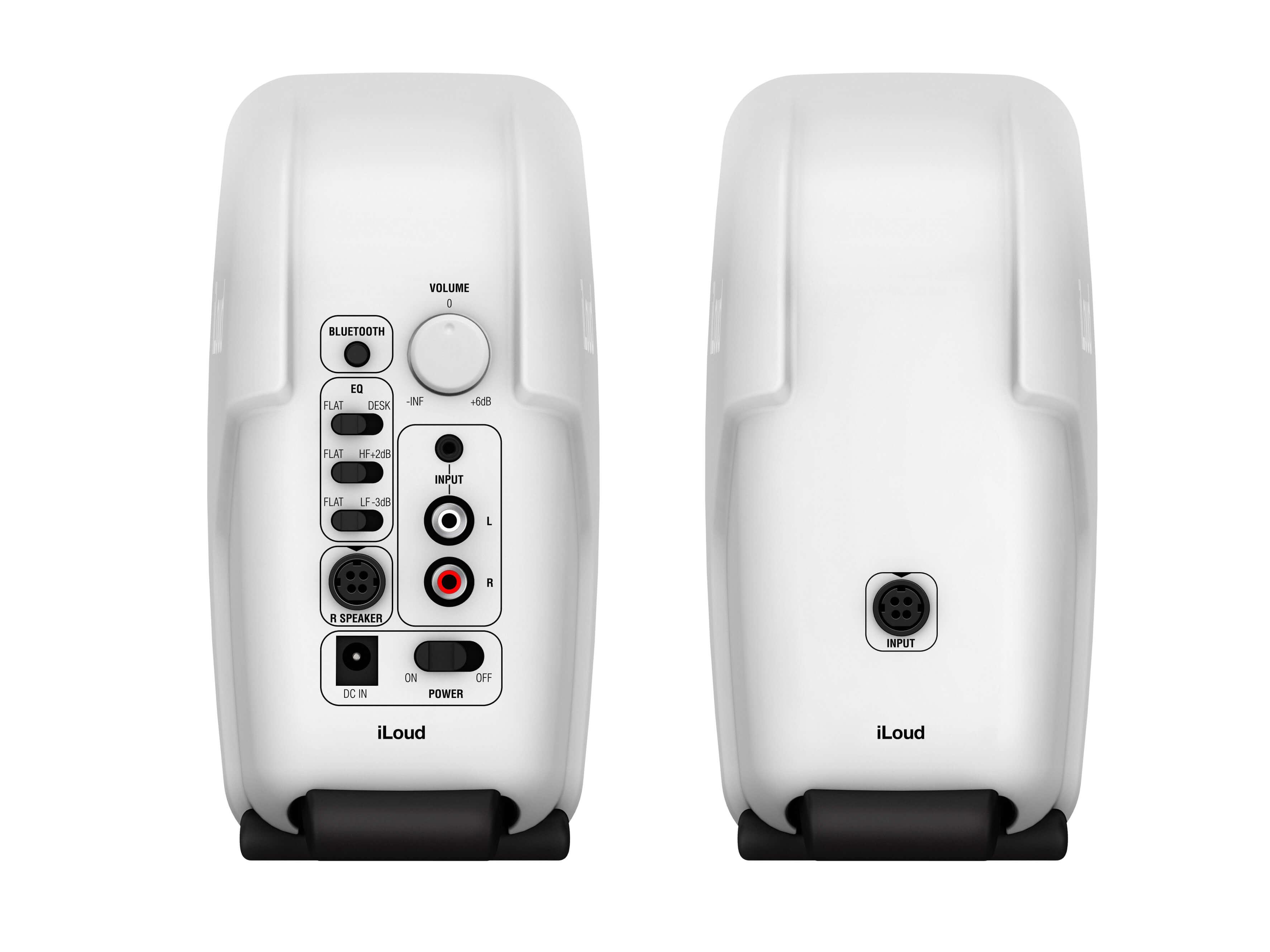 IK Multimedia iLoud Micro Monitors white back