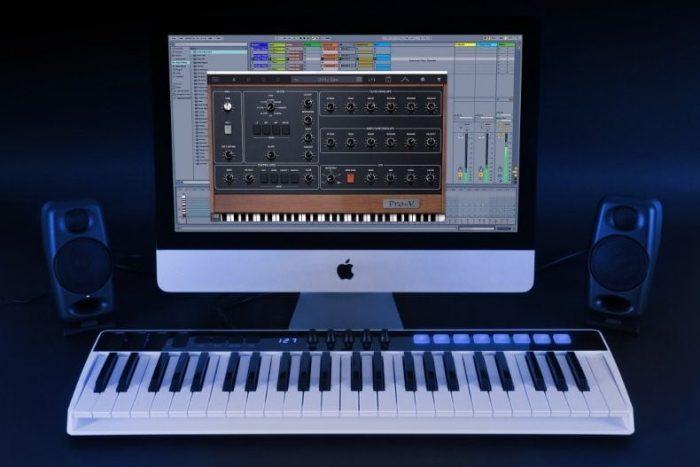 IK Multimedia iRig Keys IO with Ableton