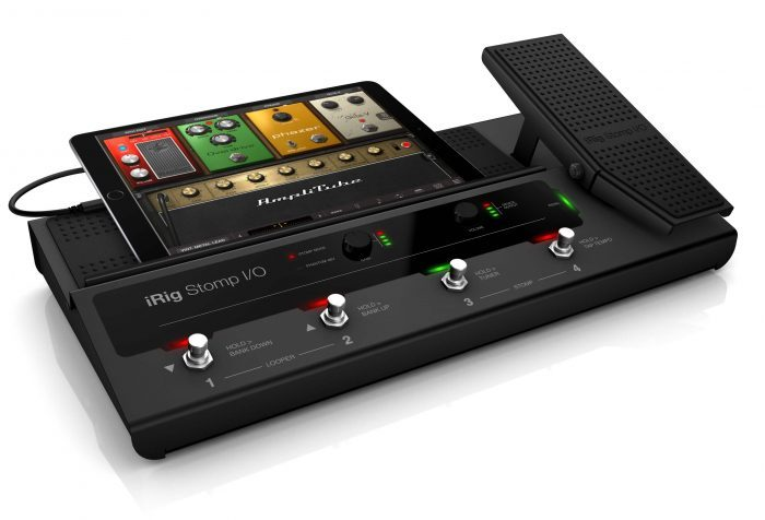 IK Multimedia iRig Stomp I/O with iPad